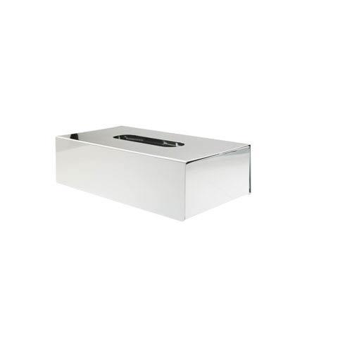 Otel Tissue Box in Stainless Steel