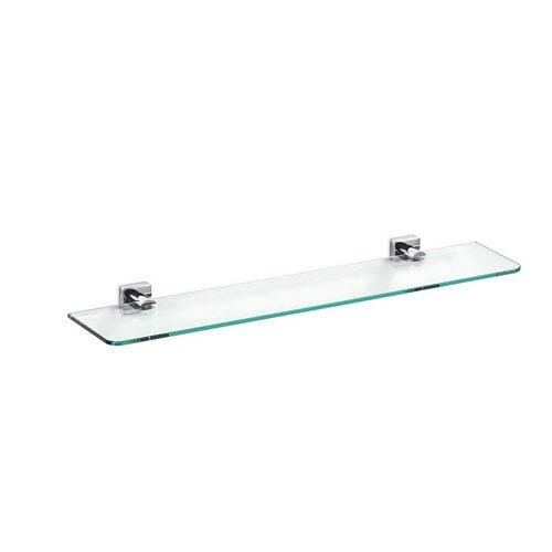Quadro Bathroom Shelf in Polished Chrome