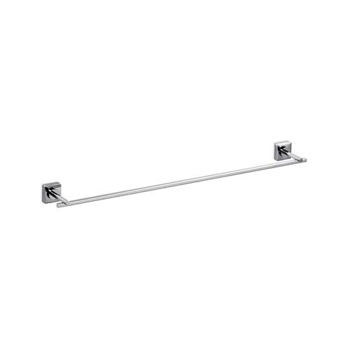 WS Bath Collections Quadro Towel Bar in Polished Chrome