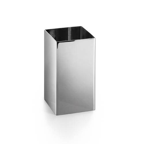 Complements Saon Stainless Steel Square Tooth Brush Holder