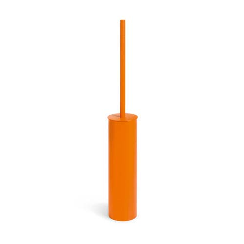 Complements Orange Bathroom Toilet Brush Holder