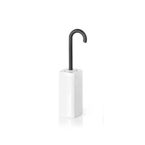 Complements Dark Grey Bathroom Toilet Brush Holder