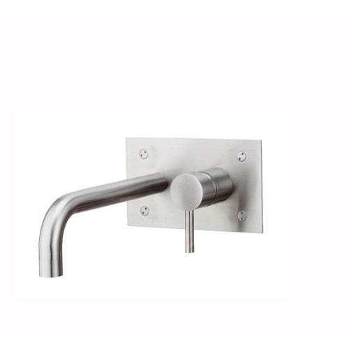 Steel Tub Filler in Stainless Steel