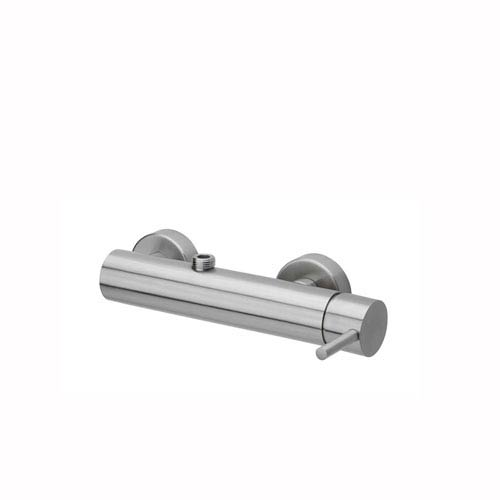 Steel Overturned Shower Mixer in Stainless Steel