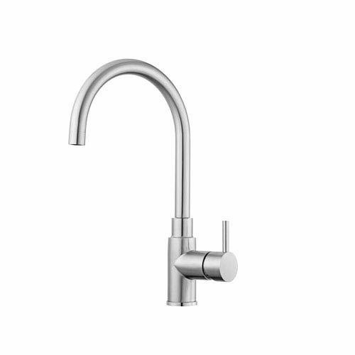 Professional Kitchen Faucet in Stainless Steel
