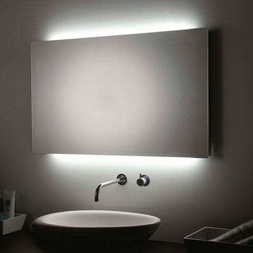 LED Wall Bathroom Mirror with Room Lights