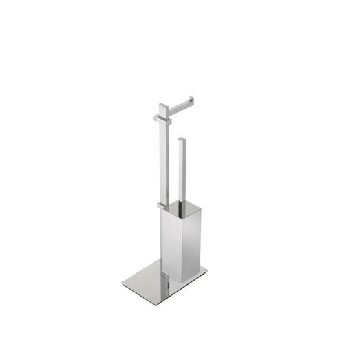 WS Bath Collections Techna Floor Standing Bathroom Accessory Stand