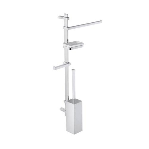 WS Bath Collections Techna Wall Mounted Bathroom Accessory Stand