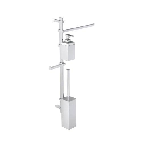 Techna Wall Mounted Bathroom Accessory Stand