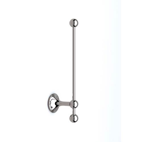 Venessia Toilet Paper Holder with Reserve in Polished Chrome
