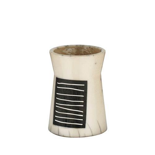 Yoko Toothbrush Holder in Raku Ceramic