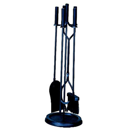 Five-Piece Black Tool Set