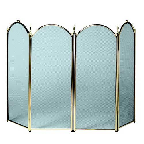 Polished Brass Screen