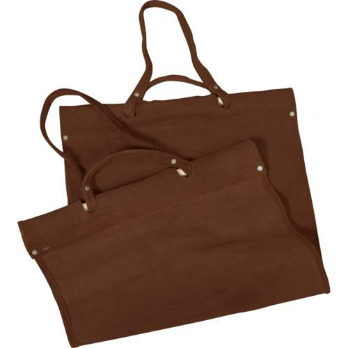 Rust Brown Suede Replacement Leather Carrier