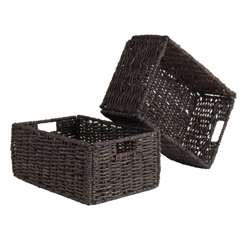 Granville Set of 2 Medium Foldable Baskets