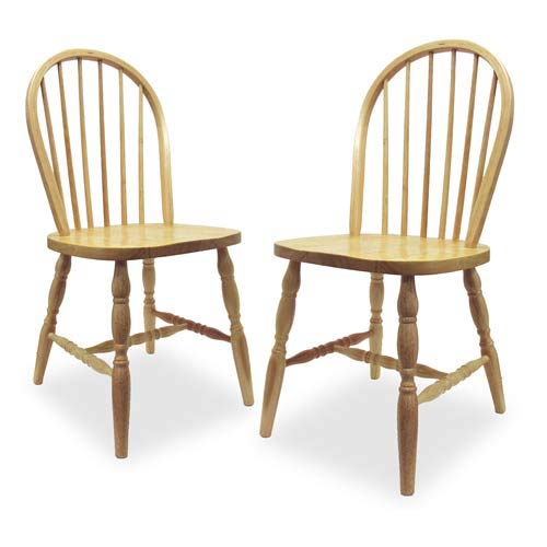 Winsome Wood Beechwood Windsor Chairs Set of Two  sc 1 st  Bellacor & Winsome Wood Beechwood Windsor Chairs Set Of Two 83237 | Bellacor