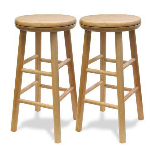 Winsome Wood 24 Inch Swivel Bar Stool 88824 Bellacor