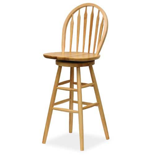 Winsome Wood Windsor 30-Inch Swivel Bar Stool