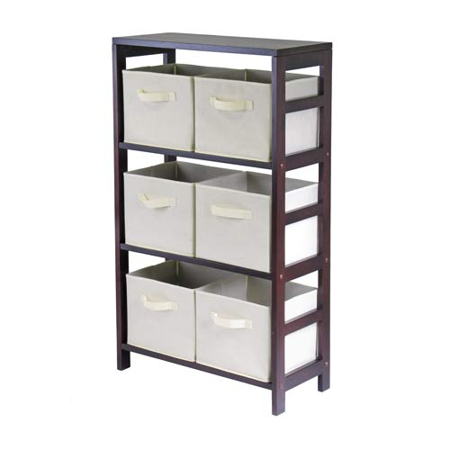 Capri Three Section N Storage Shelf