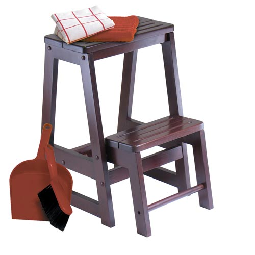 Winsome Wood Double Step Stool