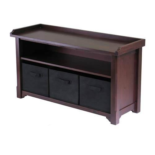 Winsome Wood Verona Storage Bench