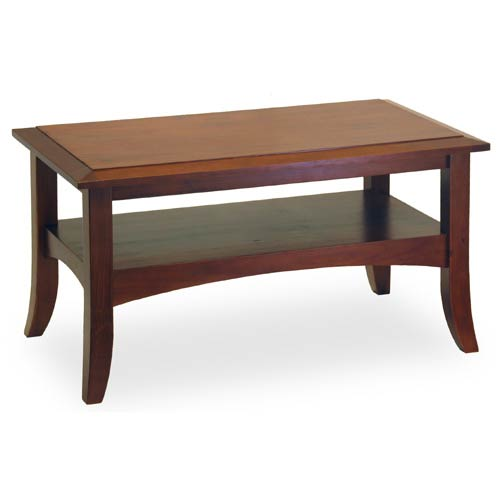Antique Walnut Wooden Coffee Table