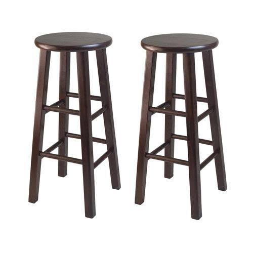 Winsome Wood Bar Stool Square Leg Bar Stool - Set of Two