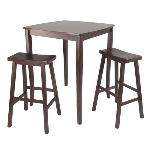 Inglewood Pub Dining Table w/ Saddle Stool