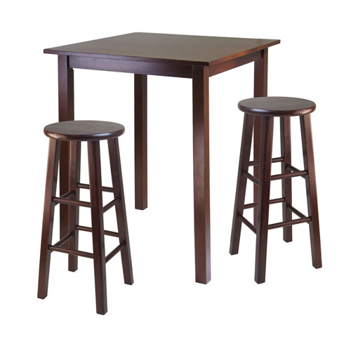 Winsome Wood Parkland Three Piece High Table