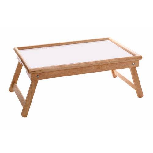 Breakfast Bed Tray, Flip Top, Foldable Legs