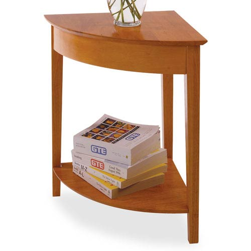 Honey Pine Corner Table