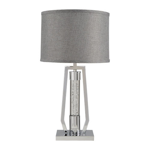 Hayes Chrome One-Light Table Lamp