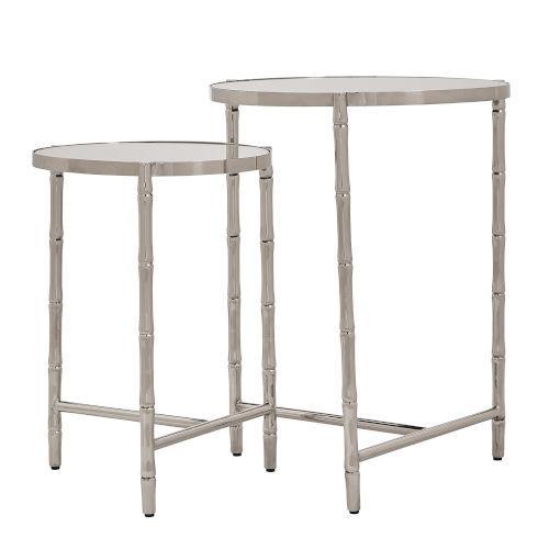Milo Silver Nesting Table Set
