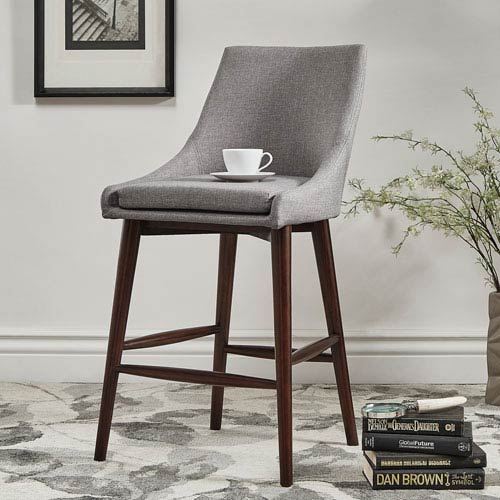 Corbel Mid Century Counter Chair, Set of 2