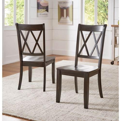 Adalee X Back Side Chair, Set of 2