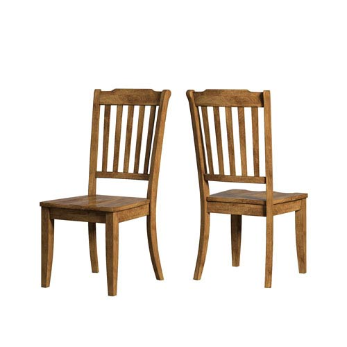 Adalee Slat Back Side Chair, Set of 2