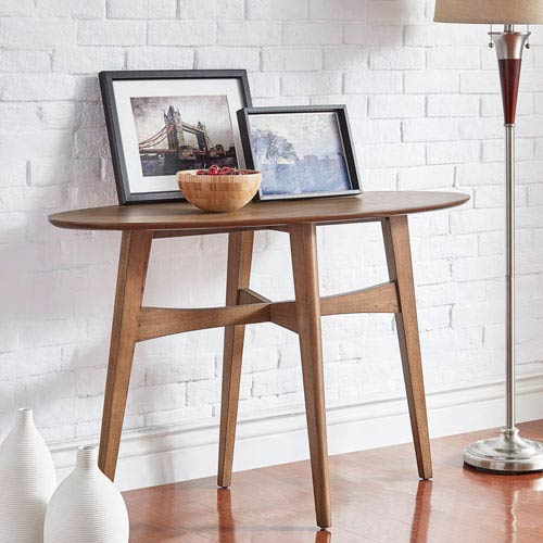 HomeHills Ainsley Danish Mod Console Table