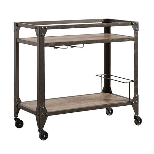 Barnes Industrial Bar Cart