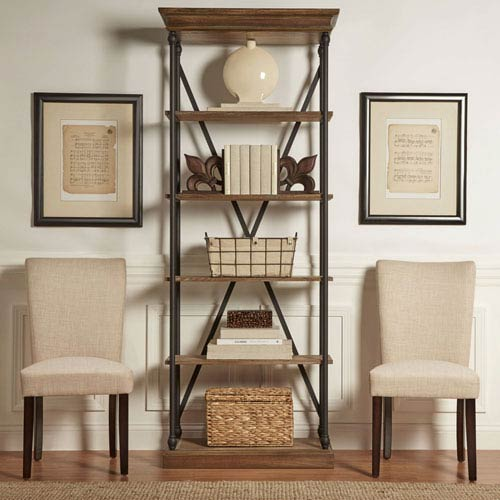 Fitch Bisque Parson Linen Side Chair, Set of 2