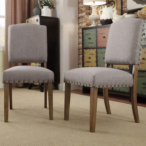 Needham Smoke Shield Back Dining Chair, Set of 2