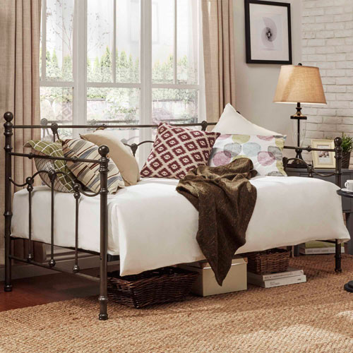 Paloma Victorian Black Daybed