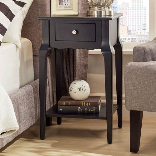 HomeHills Eugenia 1-Drawer Accent Table