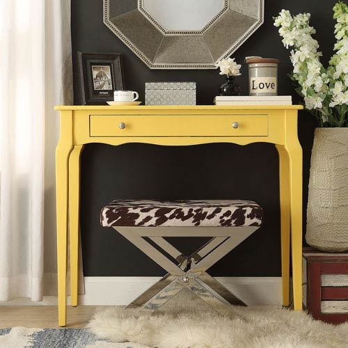 Eugenia 1-Drawer Console Table