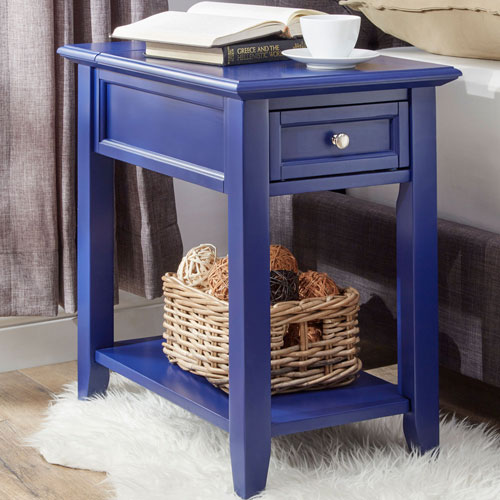 Bernay Twilight Charging Accent Table