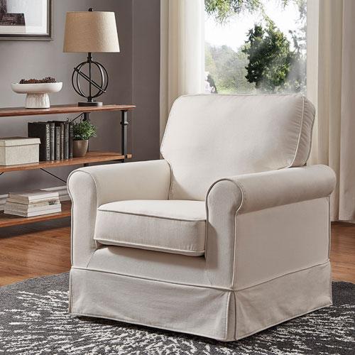 Gwyneth White Rocking Chair