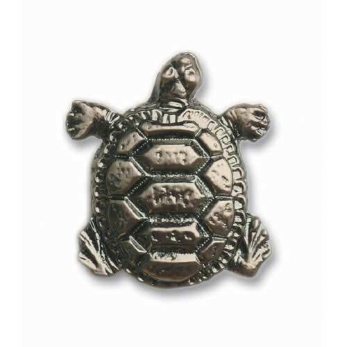 Pewter Turtle Knob
