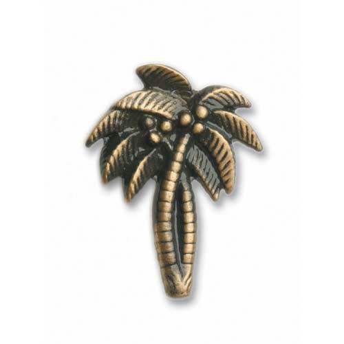 Antique Brass Palm Trees Knob