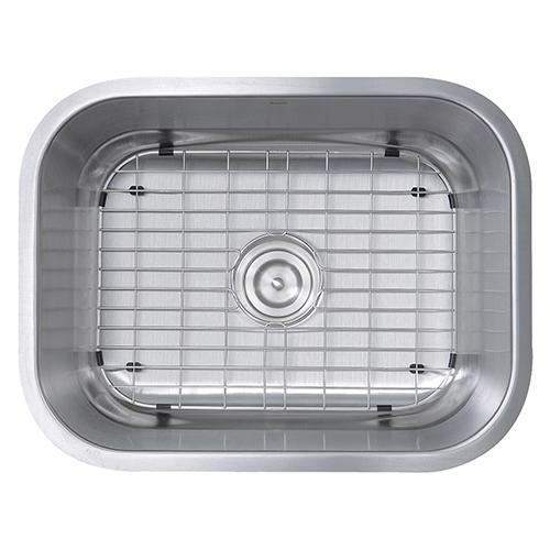 304 16 Gauge Stainless Steel Rectangle 23-Inch Undermount Kitchen Sink