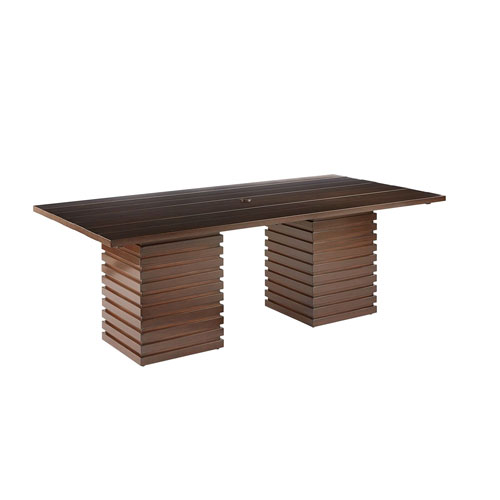 A.R.T. Furniture Epicenters Outdoor Cypress Rectangular Dining Table