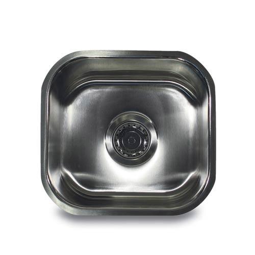 Nantucket Sinks 304 16 Gauge Stainless Steel Single Bowl 13 Inch
